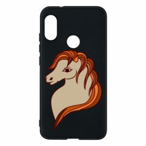 Phone case for Mi A2 Lite Red horse