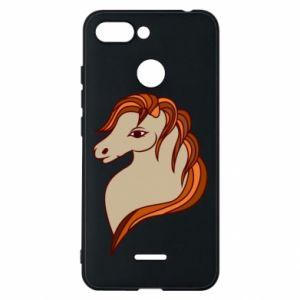 Phone case for Xiaomi Redmi 6 Red horse