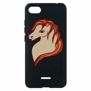 Phone case for Xiaomi Redmi 6A Red horse