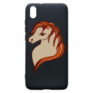 Phone case for Xiaomi Redmi 7A Red horse