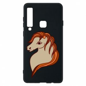 Phone case for Samsung A9 2018 Red horse
