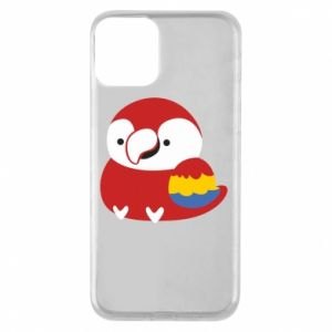Etui na iPhone 11 Red parrot