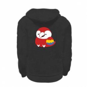 Bluza na zamek dziecięca Red parrot