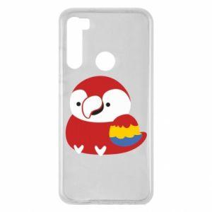 Etui na Xiaomi Redmi Note 8 Red parrot