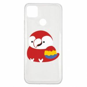 Etui na Xiaomi Redmi 9c Red parrot