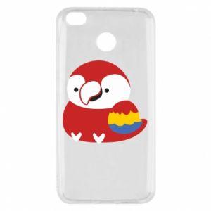 Etui na Xiaomi Redmi 4X Red parrot