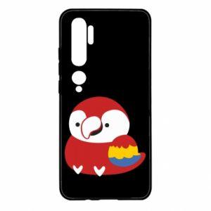 Etui na Xiaomi Mi Note 10 Red parrot