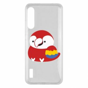 Etui na Xiaomi Mi A3 Red parrot