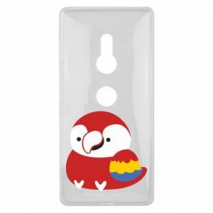 Etui na Sony Xperia XZ2 Red parrot
