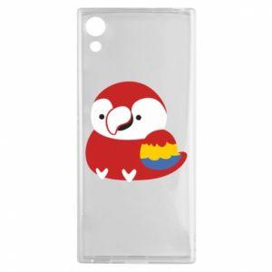 Etui na Sony Xperia XA1 Red parrot