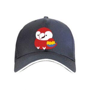 Czapka Red parrot