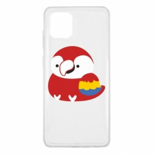 Etui na Samsung Note 10 Lite Red parrot