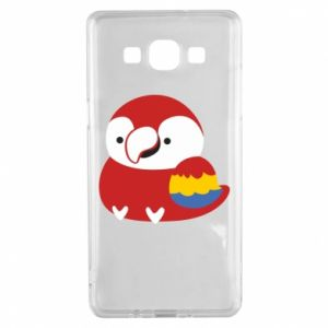 Etui na Samsung A5 2015 Red parrot