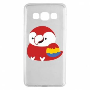 Etui na Samsung A3 2015 Red parrot