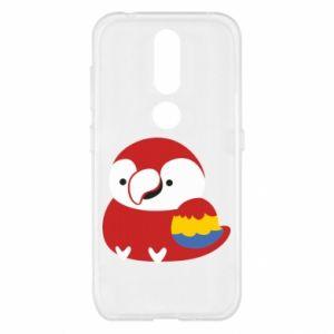 Etui na Nokia 4.2 Red parrot