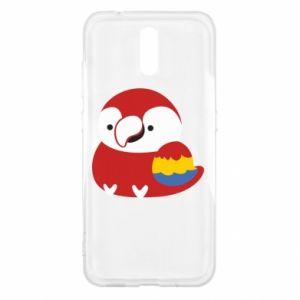 Etui na Nokia 2.3 Red parrot