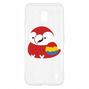 Etui na Nokia 2.2 Red parrot