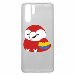 Etui na Huawei P30 Pro Red parrot