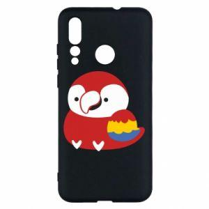 Etui na Huawei Nova 4 Red parrot
