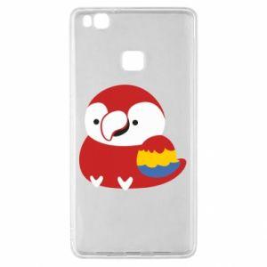 Etui na Huawei P9 Lite Red parrot