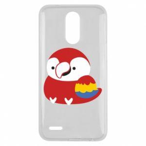 Etui na Lg K10 2017 Red parrot