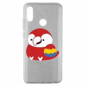 Etui na Huawei Honor 10 Lite Red parrot