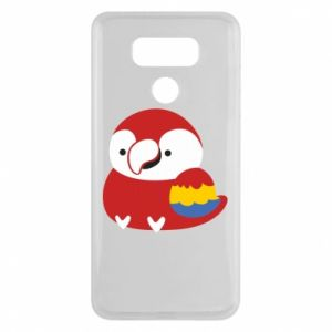 Etui na LG G6 Red parrot