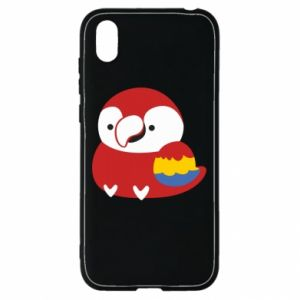 Etui na Huawei Y5 2019 Red parrot