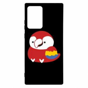 Etui na Samsung Note 20 Ultra Red parrot