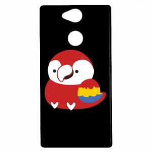 Etui na Sony Xperia XA2 Red parrot