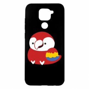 Etui na Xiaomi Redmi Note 9/Redmi 10X Red parrot