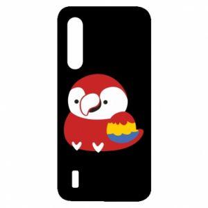 Etui na Xiaomi Mi9 Lite Red parrot