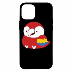 Etui na iPhone 12 Mini Red parrot