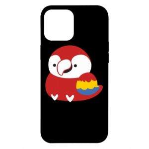 Etui na iPhone 12 Pro Max Red parrot