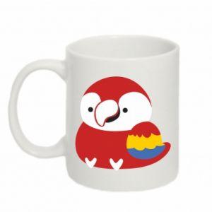 Kubek 330ml Red parrot