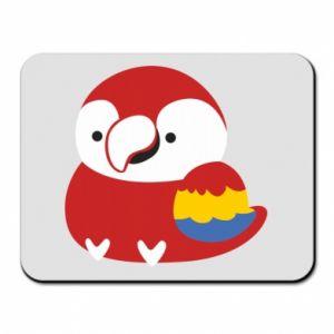 Podkładka pod mysz Red parrot