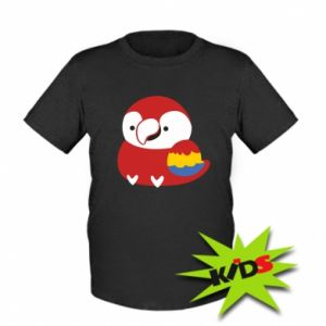 Koszulka dziecięca Red parrot