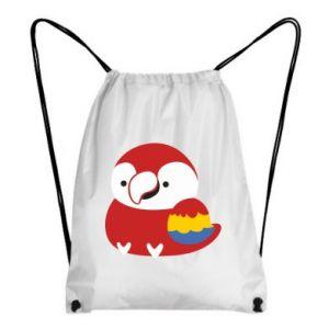 Plecak-worek Red parrot