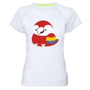 Koszulka sportowa damska Red parrot