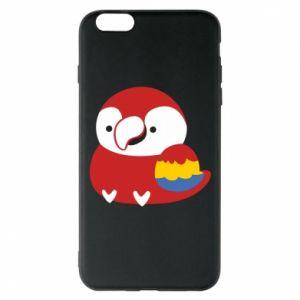 Etui na iPhone 6 Plus/6S Plus Red parrot