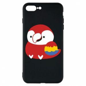 Etui do iPhone 7 Plus Red parrot