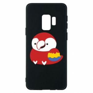 Etui na Samsung S9 Red parrot