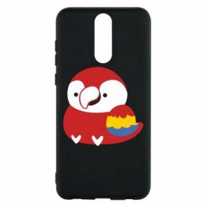 Etui na Huawei Mate 10 Lite Red parrot