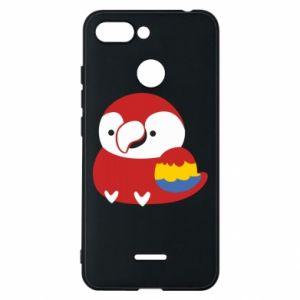 Etui na Xiaomi Redmi 6 Red parrot