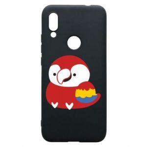 Etui na Xiaomi Redmi 7 Red parrot