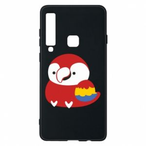 Etui na Samsung A9 2018 Red parrot