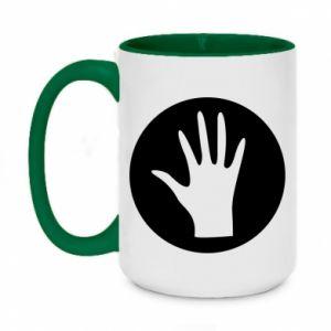 Two-toned mug 450ml Arm