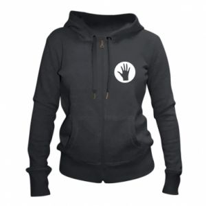 Women's zip up hoodies Arm