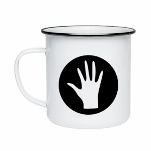 Enameled mug Arm