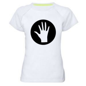 Women's sports t-shirt Arm